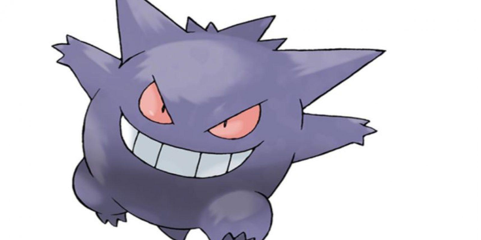 Gengar Foto:Pokémon. Imagen Por:
