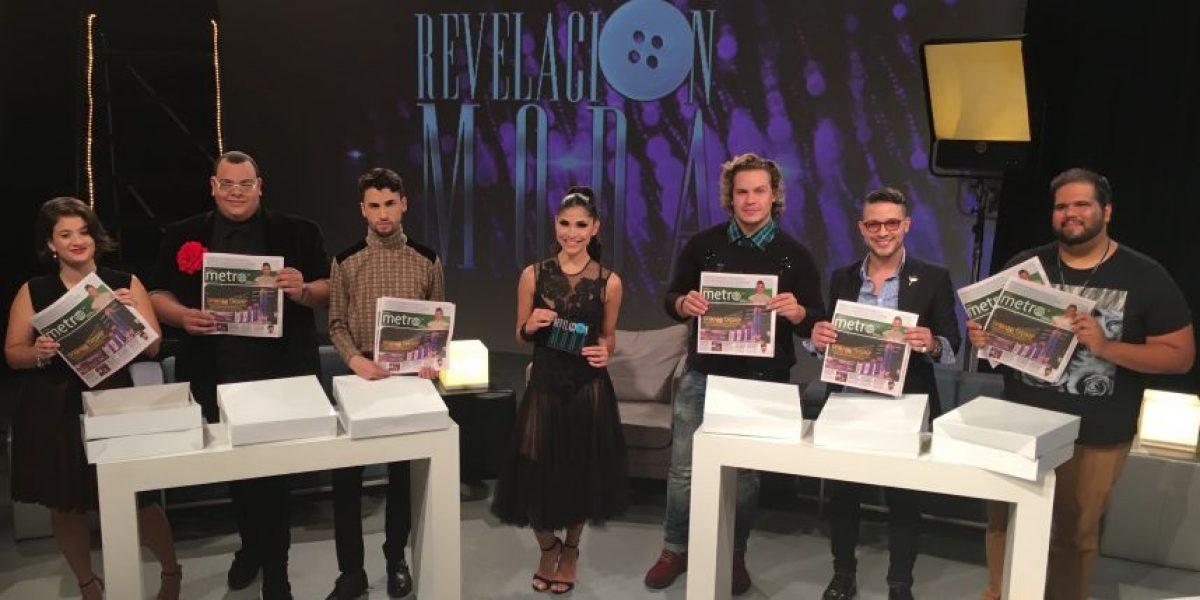 Diseños con papel periódico de Metro es el reto de la semana en Revelación Moda