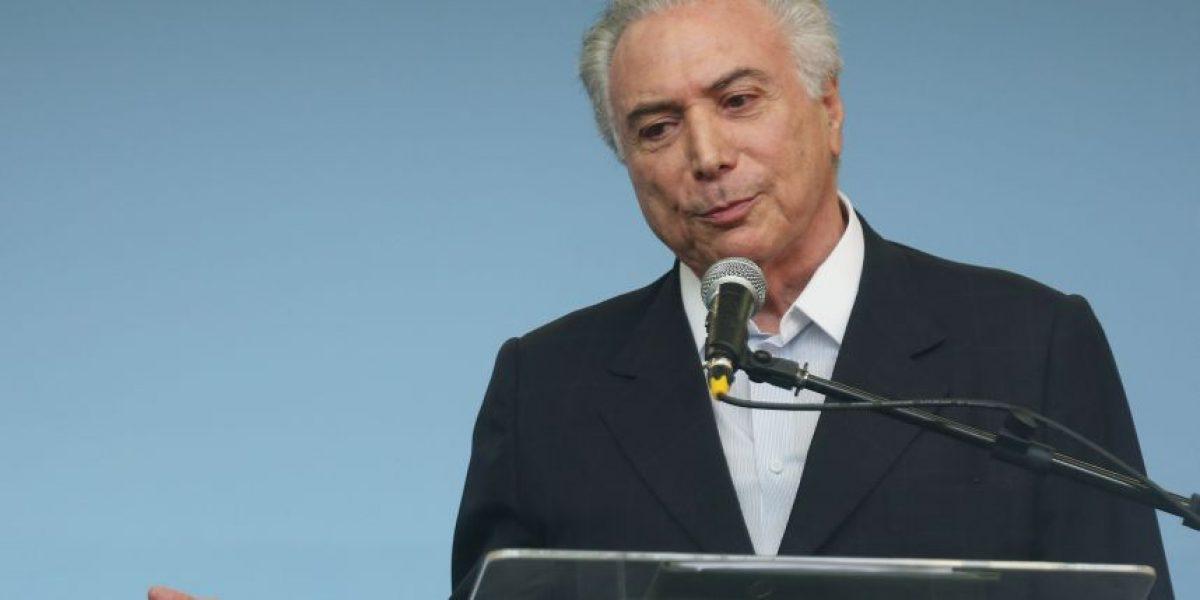 Presidente interino de Brasil elogia organización de Río 2016