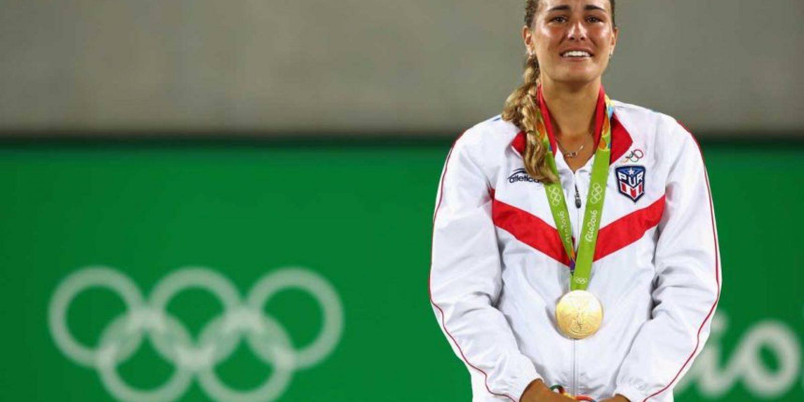 ORO: Mónica Puig (Puerto Rico/Tenis) Foto:Getty Images. Imagen Por: