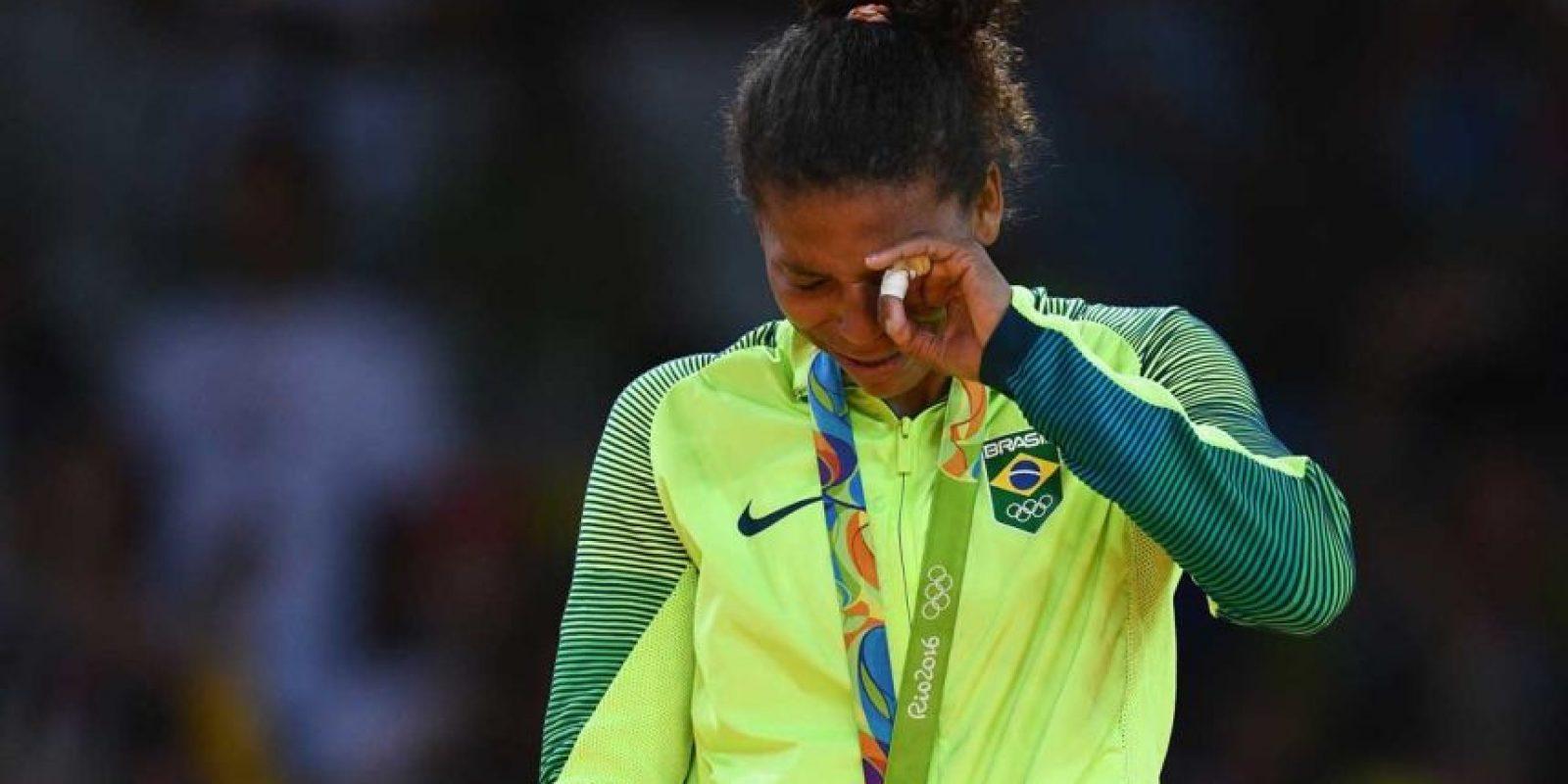 ORO: Rafaela Silva (Brasil/Judo) Foto:Getty Images. Imagen Por:
