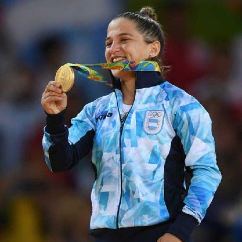 ORO: Paula Pareto (Argentina/Judo) Foto:Getty Images. Imagen Por: