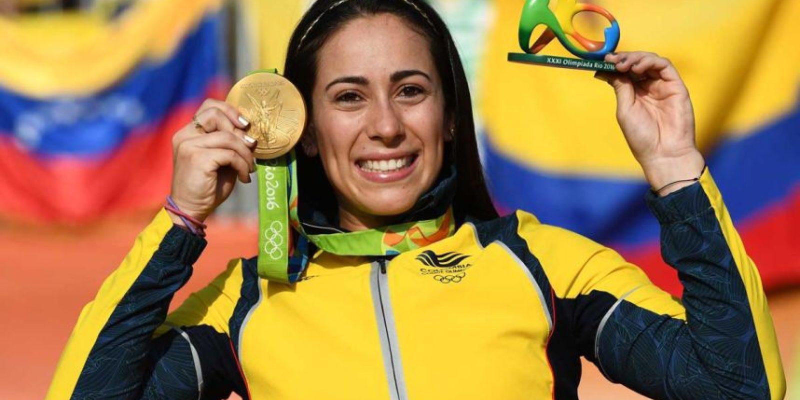 ORO: Mariana Pajón (Colombia/BMX) Foto:Getty Images. Imagen Por: