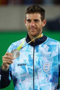 PLATA: Juan Martín del Potro (Argentina/Tenis) Foto:Getty Images. Imagen Por: