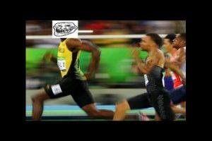 """Los mejores memes del """"triple-triple"""" de Usain Bolt Foto:Twitter. Imagen Por:"""