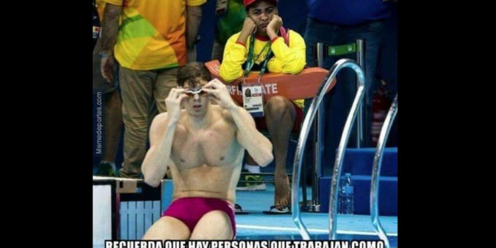 Cosas que pasan en Río… Foto:memedeportes.com. Imagen Por:
