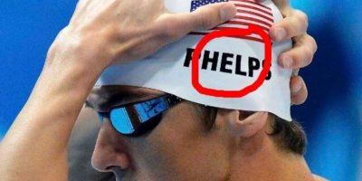 """También en redes sociales, comenzaron a jugar con un presunto """"secuestro"""" del nadador. Foto:Vía twitter.com. Imagen Por:"""
