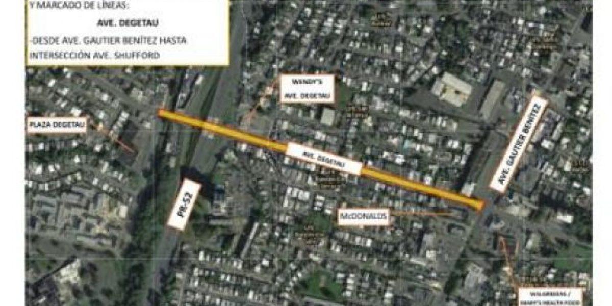 Anuncian mejoras en avenida Degetau en Caguas