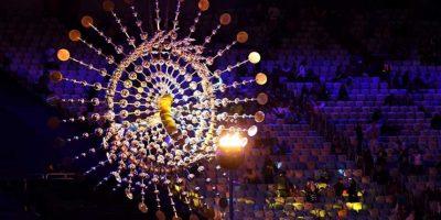 La llama olímpica será apagada.. Imagen Por: