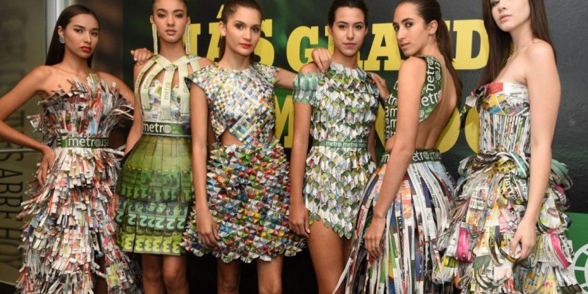 Se lucen diseñadores de Revelación Moda con trajes de publicaciones de Metro
