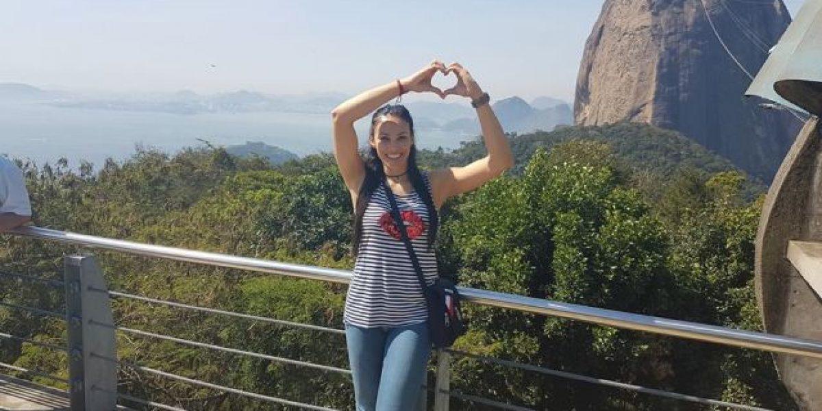 Vilmarie Mójica lleva a Río 2016 en su piel