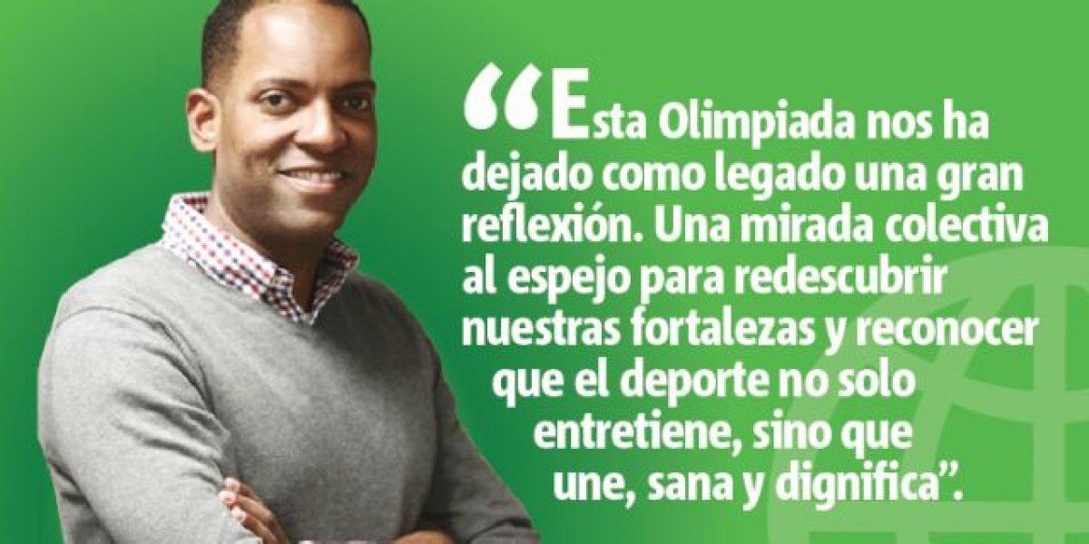 Columna de Julio Rivera Saniel: Olímpica lección