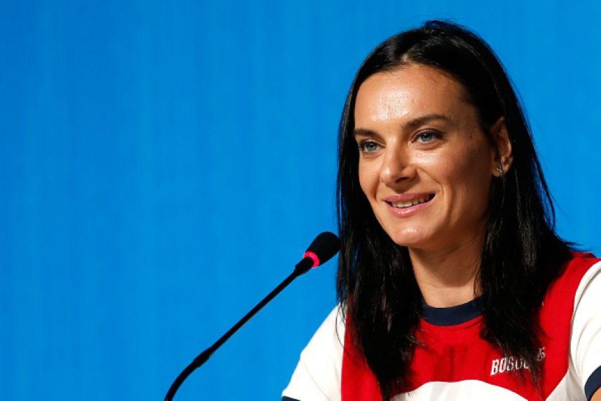 Yelena Isinbayeva Foto:Getty Images. Imagen Por: