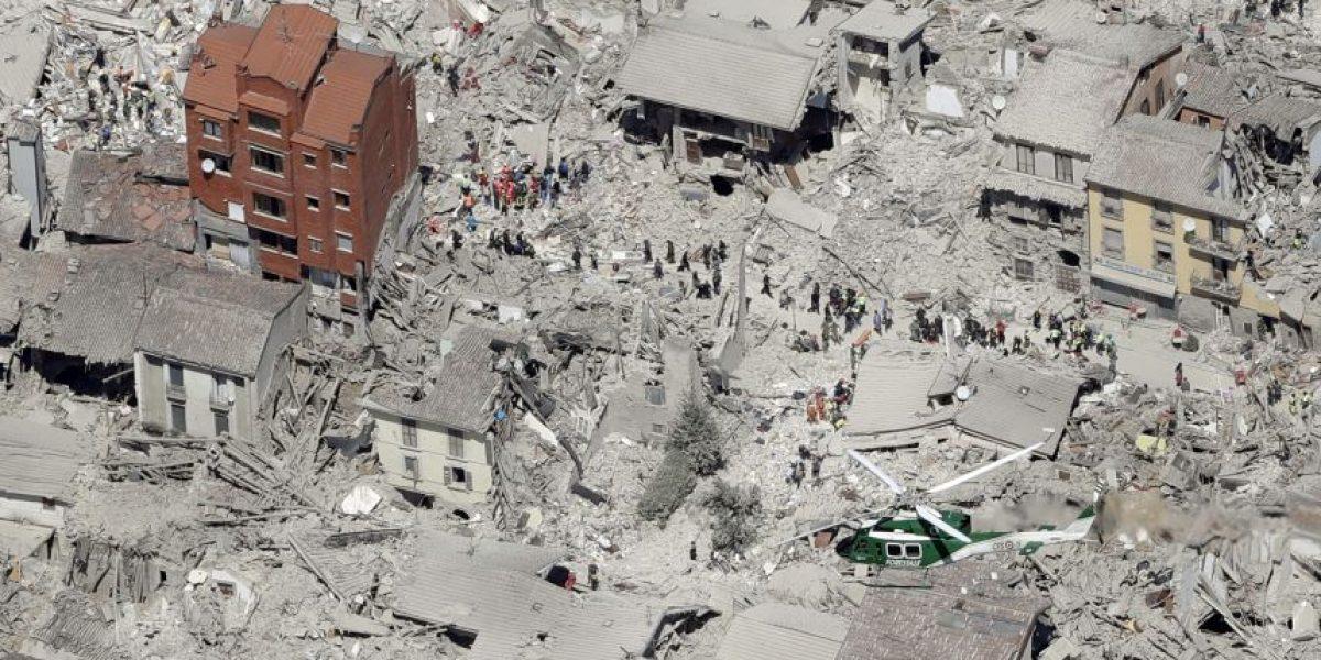 Sismo destruye centro histórico y turístico de Amatrice en Italia