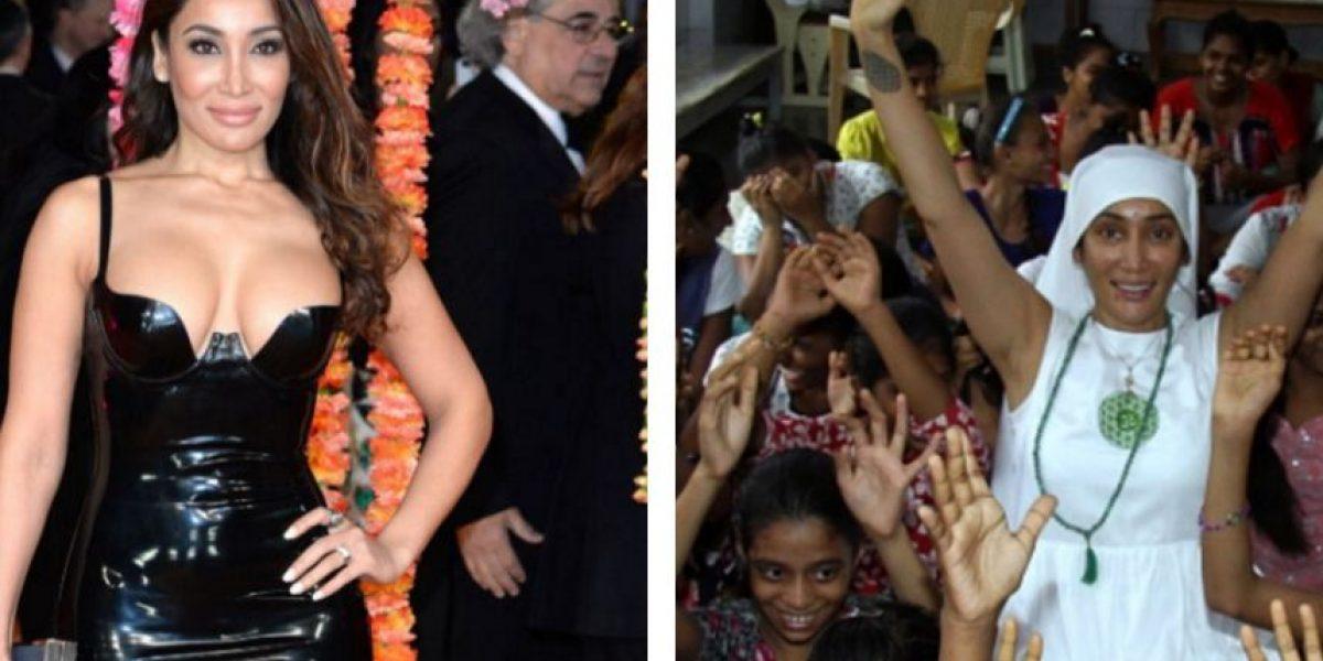 Actriz de Bollywood se convierte en monja
