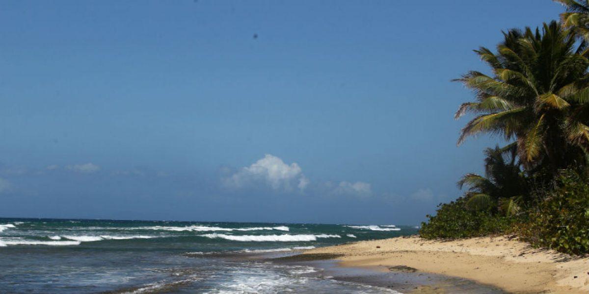 Playa en Naguabo no apta para bañistas