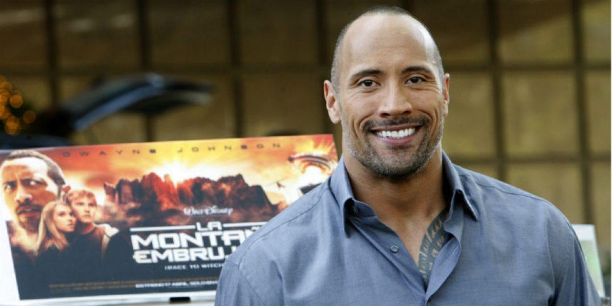 Dwayne Johnson, el actor mejor pagado del año, según Forbes