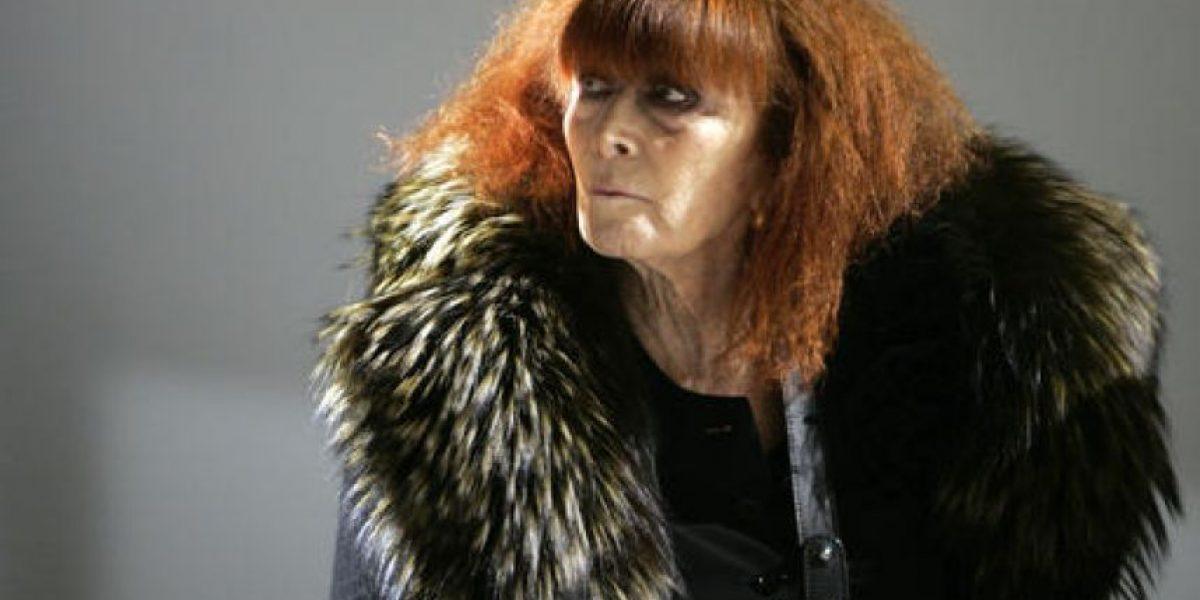 Muere pionera diseñadora Sonia Rykiel
