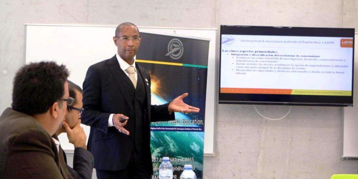 Instituto de Aeronáutica presenta propuesta de desarrollo económico para Puerto Rico