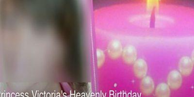 La portada del evento en Facebook. Foto:Facebook/Princess Victoria's Heavenly Birthday. Imagen Por: