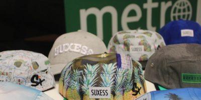 Gorras Suxess Foto:David Cordero Mercado. Imagen Por: