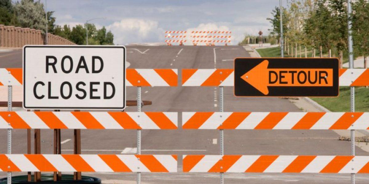 Cierran carretera de Canóvanas debido a derrumbe