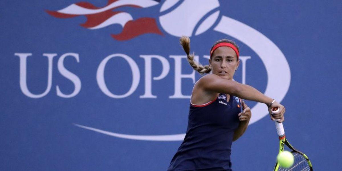Eliminada Mónica en la primera ronda del Abierto de EE. UU.