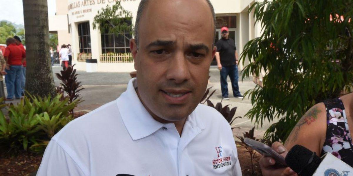 Ferrer no descarta ir a tribunales a impugnar Junta de Control Fiscal
