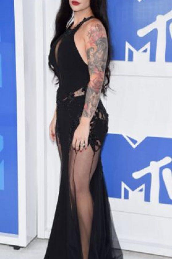 J Wow Wow como una versión trashy de Kat Von D. Foto:Getty Images. Imagen Por: