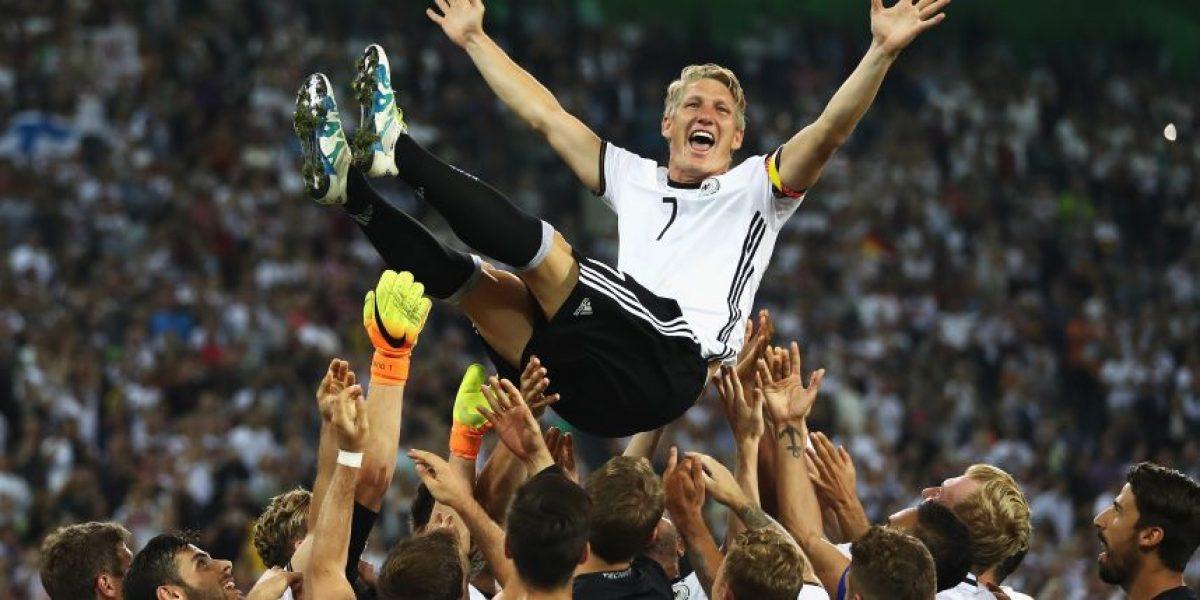 Alemania gana en el retiro de Schweinsteiger