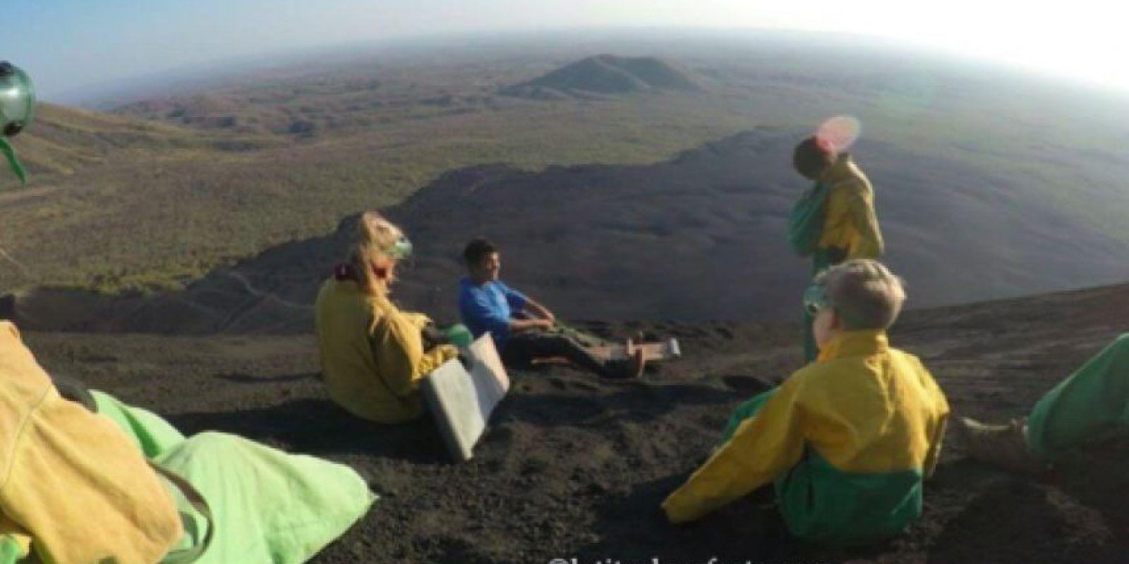 Volcán Cerro Negro, Nicaragua Foto:Latitud Perfecta. Imagen Por: