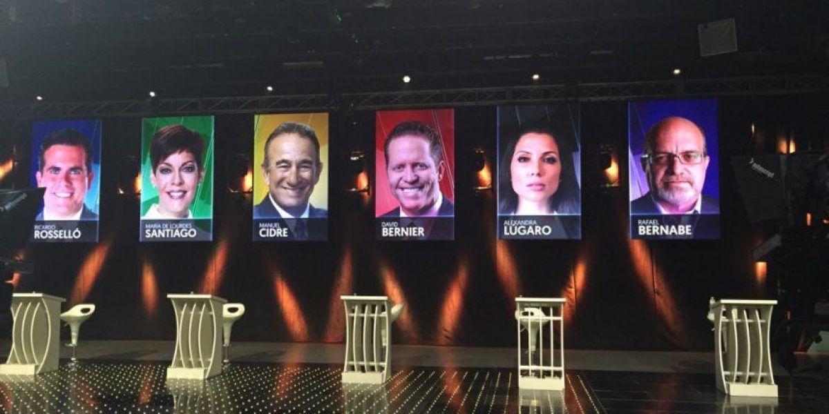 En Directo: Debate de los candidatos a la gobernación