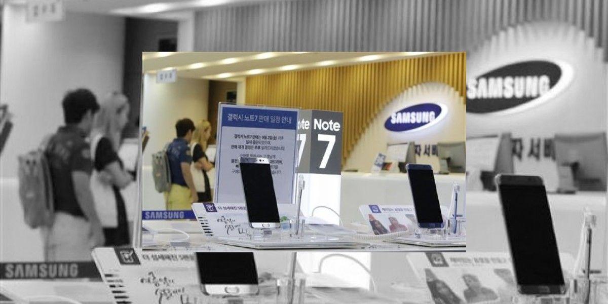 Samsung actualiza software del Galaxy Note 7