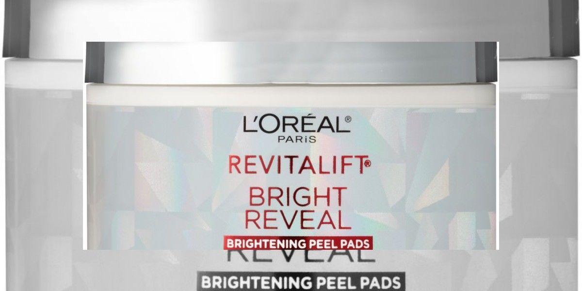 Revitalift Bright Reveal Peel Pads: 30 paños húmedos que aseguran el mejor trato para tu piel