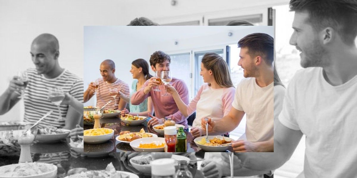 Numerosos los beneficios de comer acompañado