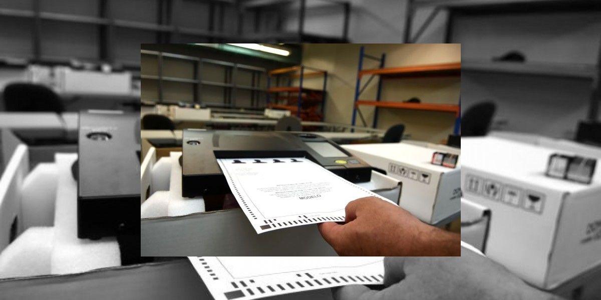 En espera proceso de impresión de papeletas CEE
