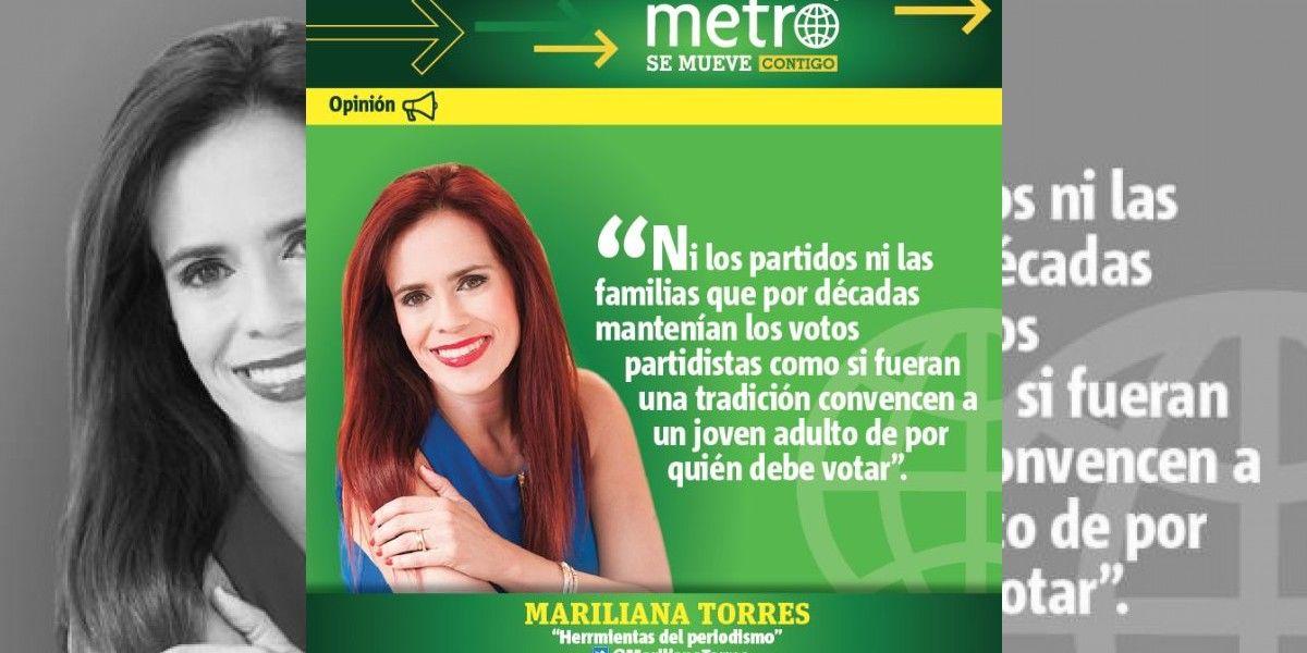 Columna de Mariliana Torres: Los jóvenes están esperando