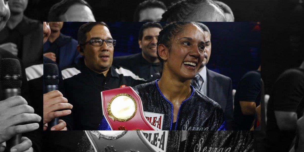 Amanda Serrano triunfa contra la mexicana Yazmín Rivas