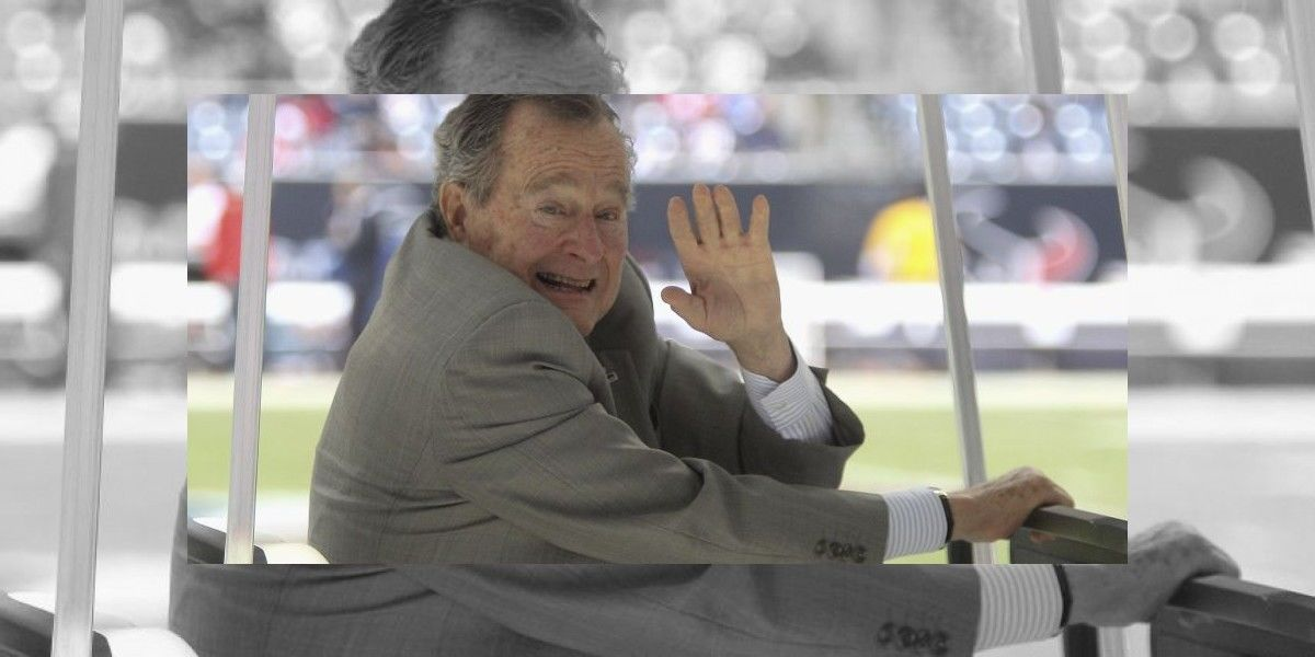 ¿Votará por Hillary el expresidente George H. W. Bush?