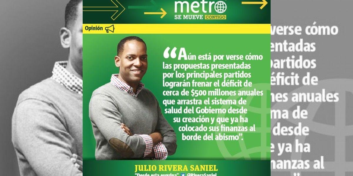 Columna de Julio Rivera Saniel: ¡A que no  le meten mano!