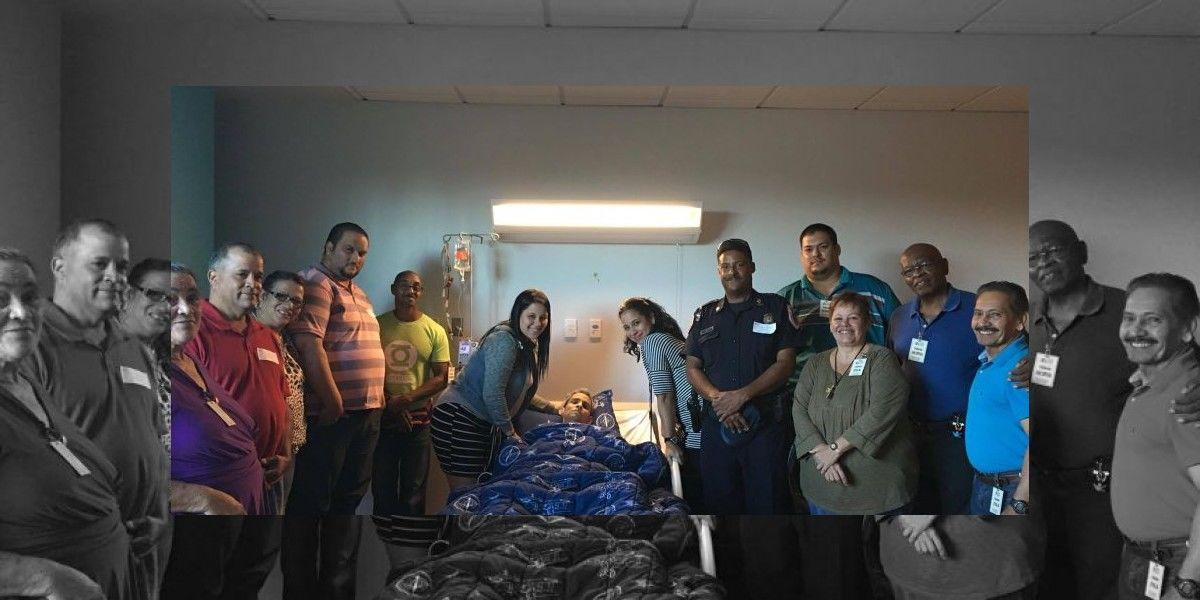 Piden ayuda para agente de la Policía que sufre de metástasis