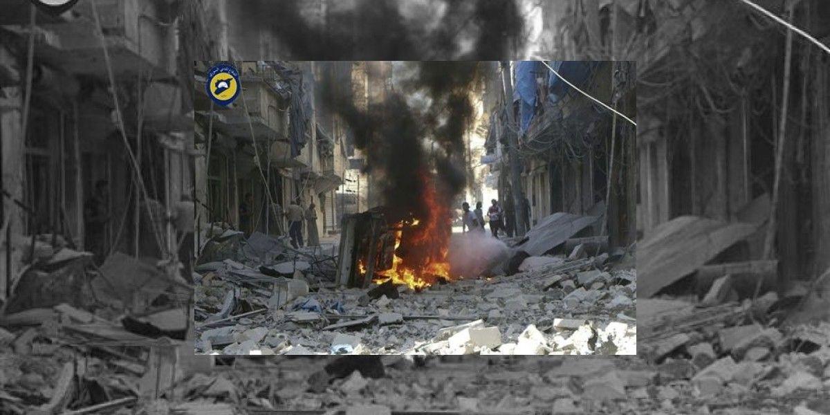 Francisco condena bombardeos en Siria