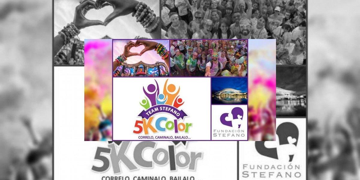 5k Color a beneficio de la Fundación Stefano Steenbakkers Betancourt