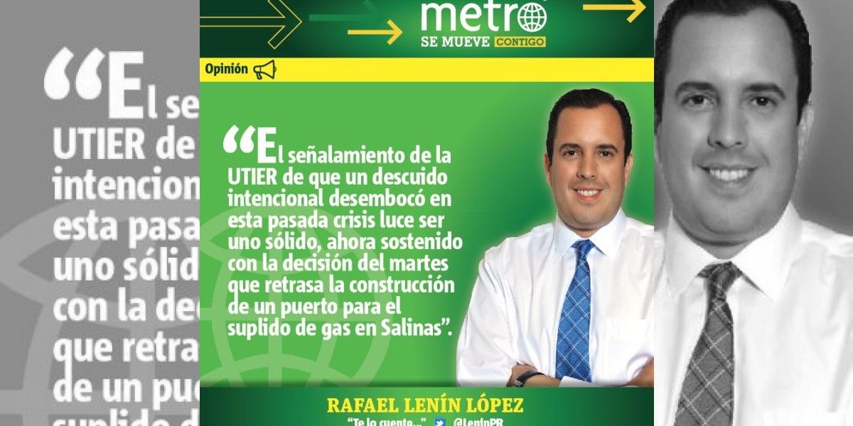 Columna de Rafael Lenín López: Apagón