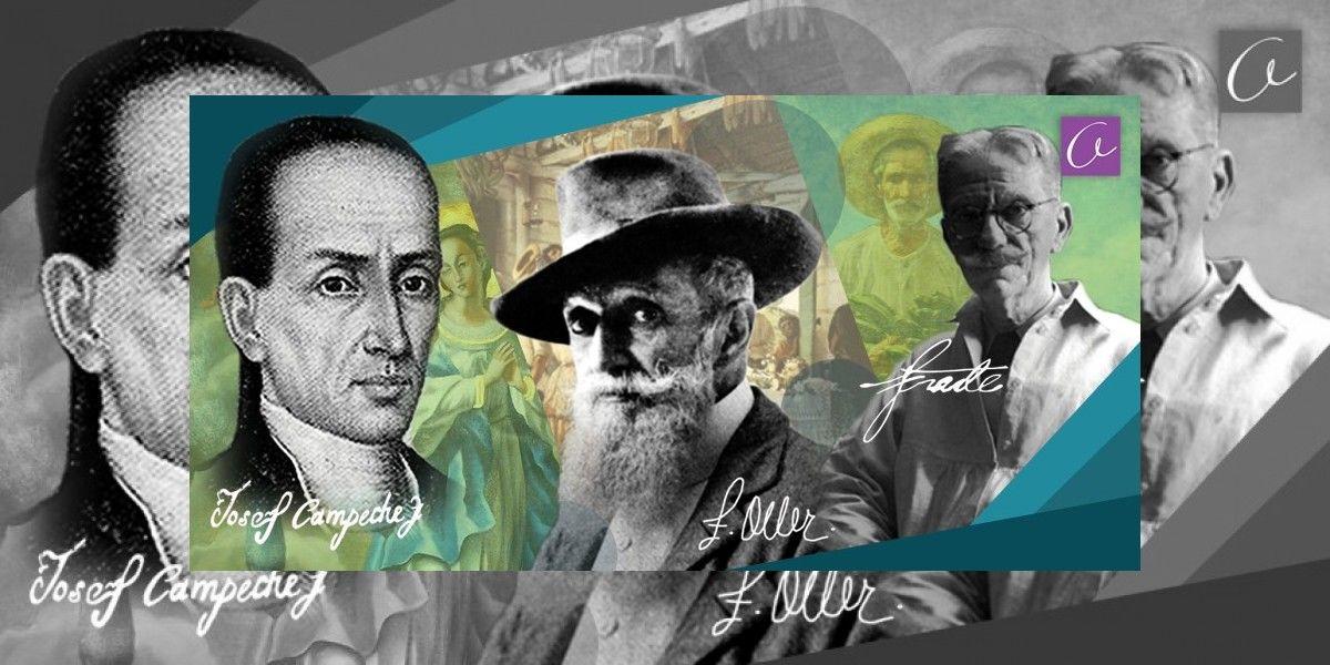Columna de Francisco Zamora: Los pintores de Puerto Rico y de Autógrafo
