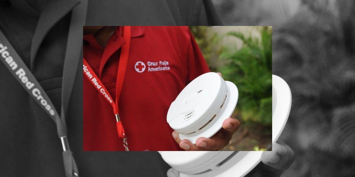 Cruz Roja Americana en la isla instala 3,883 detectores de humo en 21 municipios