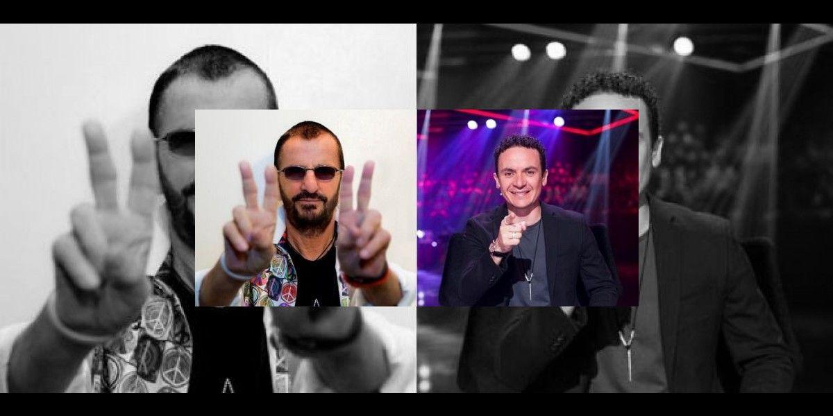 Fonseca y Ringo Starr grabarán himno de paz por Colombia
