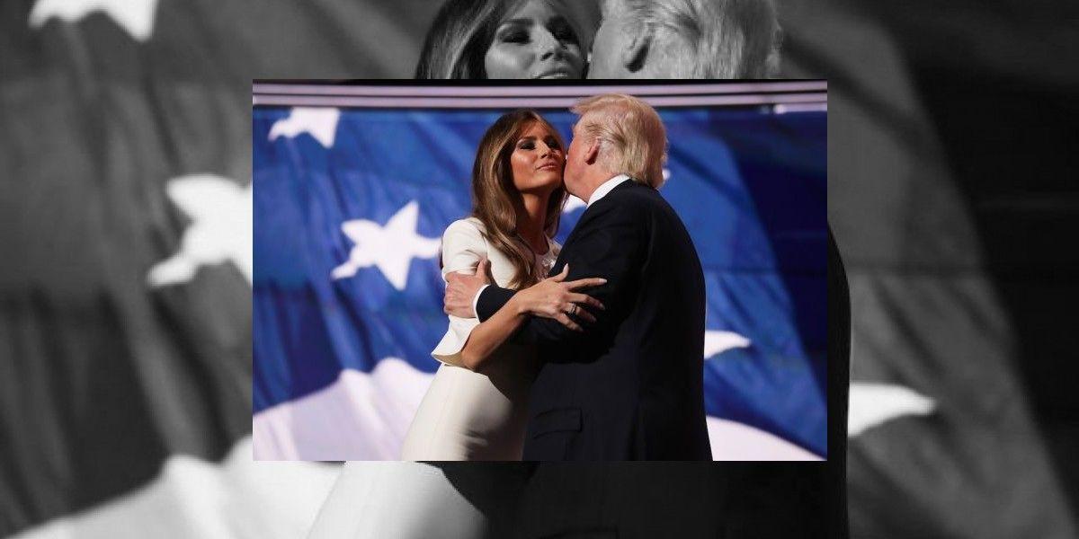 """Melania Trump sobre expresiones de Trump: """"Las palabras de mi esposo son inaceptables"""""""