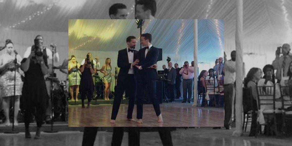 Viral baile nupcial de una pareja gay