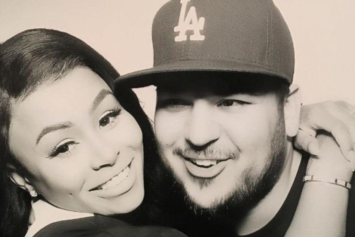 Afirman que romance de Rob Kardashian y Blac Chyna es falso. Imagen Por: Instagram